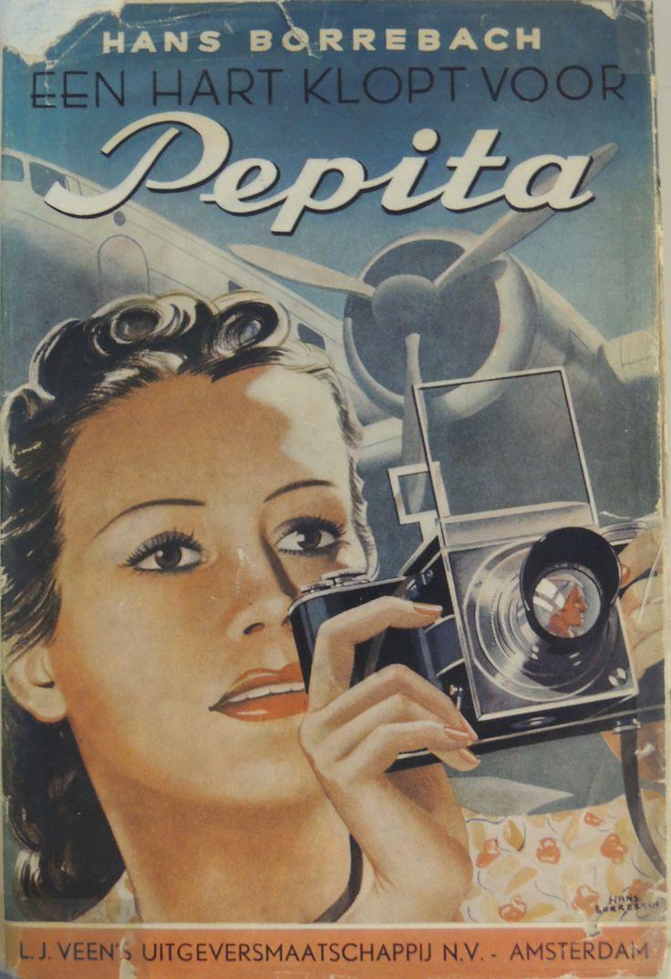 Een hart klopt voor Pepita. Geschreven én geïllustreerd door Hans Borrebach