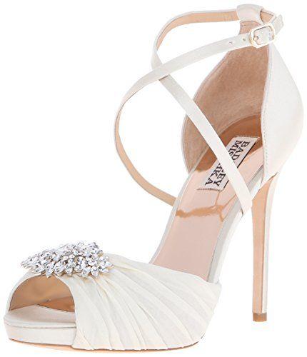 Badgley Mischka Women's Cacique Dress Sandal, Ivory, 6 M US Badgley Mischka http://www.amazon.com/dp/B0174A9AWC/ref=cm_sw_r_pi_dp_QOz9wb0WJGAVB