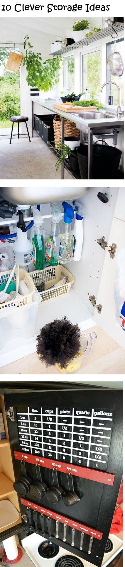 10 Clever Storage Ideas