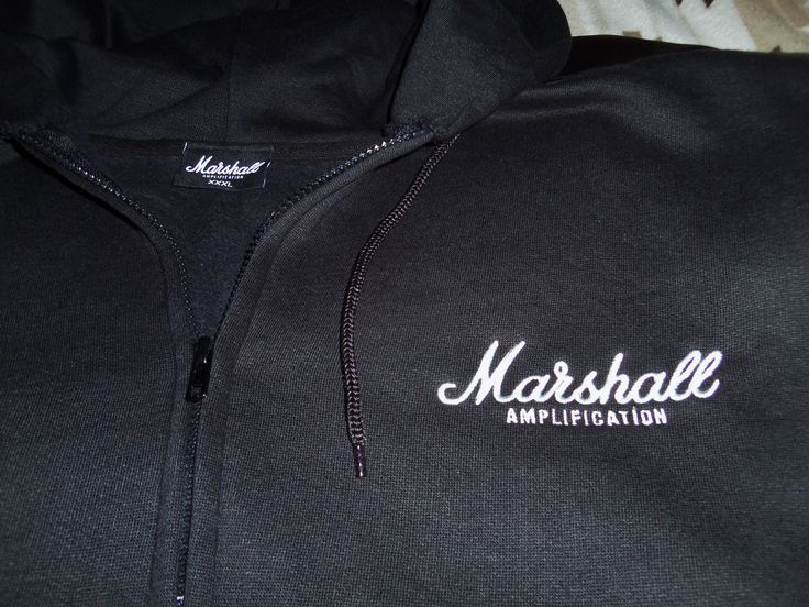 Marshall Amplification Sweater Embroidered Logo MarshallAmplification LiveForMusic LiveLifeLoud MarshallSwag