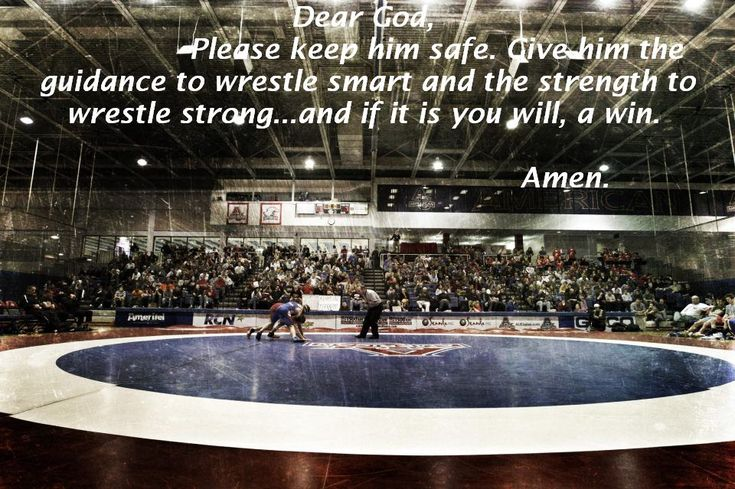 Prayers like my momma says before me and my brothers wrestle <3
