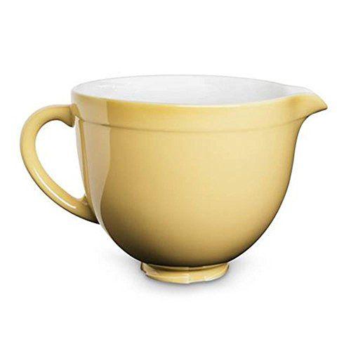 KitchenAid KSMCB5MY schüssel, Keramik, 19,6 x 32 x 23,4 cm, pastellgelb - http://geschirrkaufen.online/kitchenaid/kitchenaid-ksmcb5my-schuessel-keramik-19-6-x-32-x-4