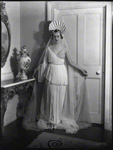 Diana Mosley nee Diana Mitford by Madame Yevonde.
