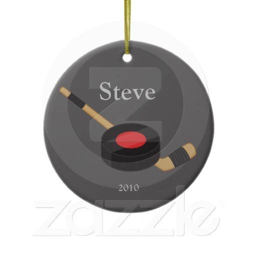 Hockey Christmas Ornament