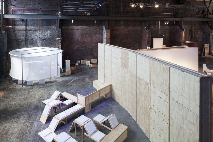 El embalaje como arquitectura en arteBA Focus / Distrito de las Artes