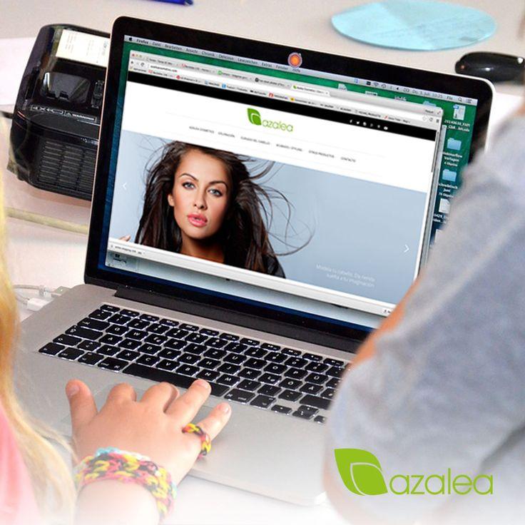 ¡Descubre toda la gama de productos #AzaleaCosmetics en nuestra web!  📲 http://azaleacosmetics.com/  #AzaleaCosmetics #Cosmeticos #Tratamientos #Cabello #Tintes #Belleza #Peinados