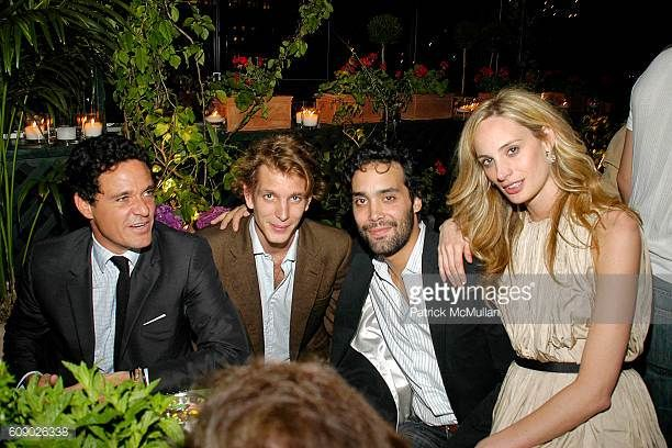 Andrea Casiraghi and Lauren Davis attend BOB COLACELLO's Birthday Party at the Gramercy Park Hotel at Gramercy Park Hotel on May 9 2007 in New York...