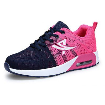 Just US$28.41, buy Female Breathable Soft Air Cushion Running Sneakers online shopping at GearBest.com Mobile.