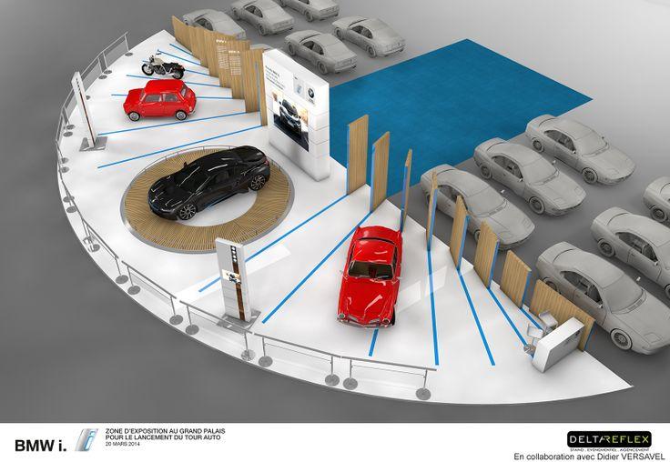 -PROJET -Tour Auto 2014 - BMW en collaboration avec Soc Delta Reflex.