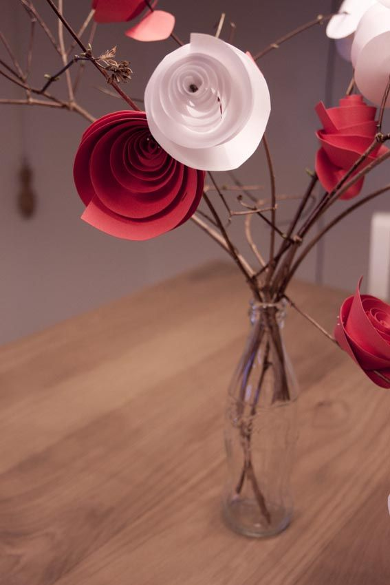 #Tutorial: #centrotavola o #bouquet con #rose di #carta. #d.i.y. #paper #rose #craft