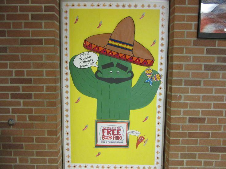 "This is ""Nacho"" Ordinary Book Fair!   Bulletin Boards ..."