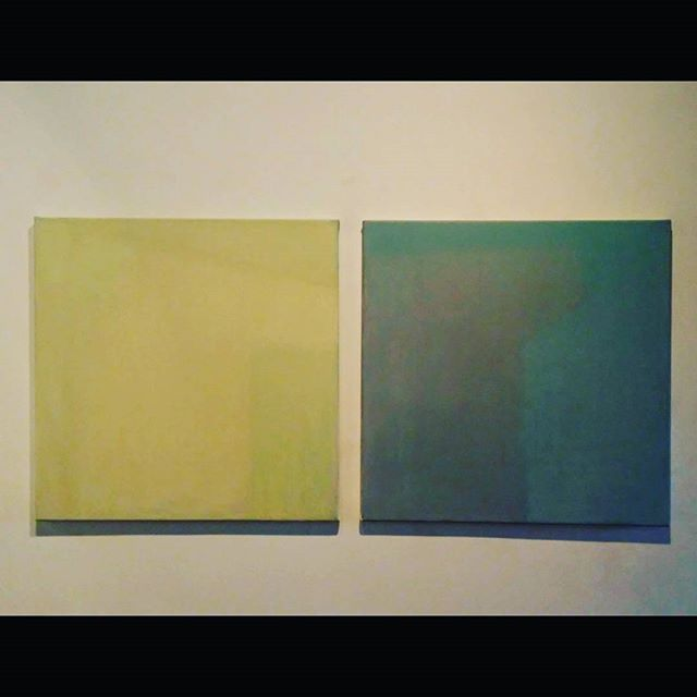 Krajcsovics Eva: Paired I., 2015 #budapestgaleria  #contemporaryart #artcontemporain #artecontemporanea #minimalart #fineart #minimalisme #colorful #paired #oilpainting #oilpaintoncanvas #exhibition #budapest #abstract #kunstausstellung #artwork #interieur #ig_artistry #ig_budapest #newart #ig_magyarorszag #hungarianartist #hungarianart #krajcsovicseva #artlovers #museumlover
