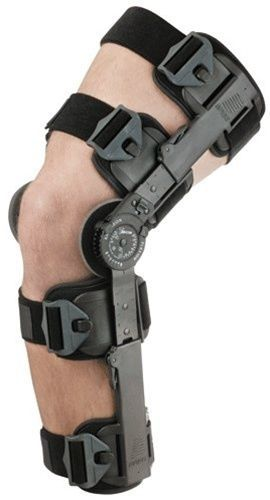 Breg T Scope Rom Post Op Knee Brace Adjustable Hinged Leg