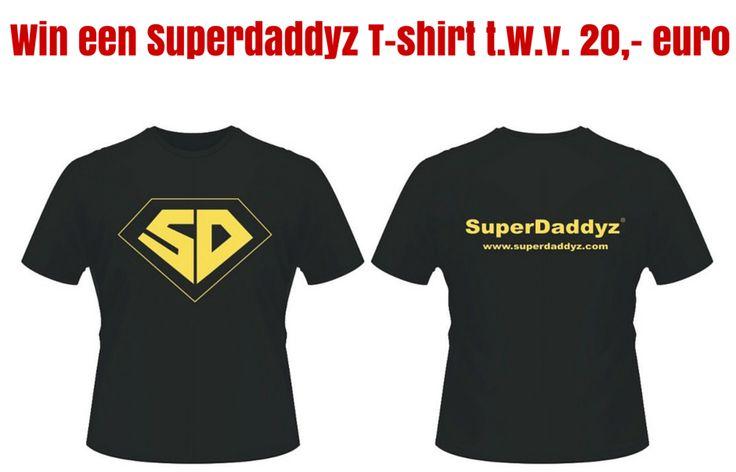 Er worden 10 SuperDaddyz T-shirts verloot!
