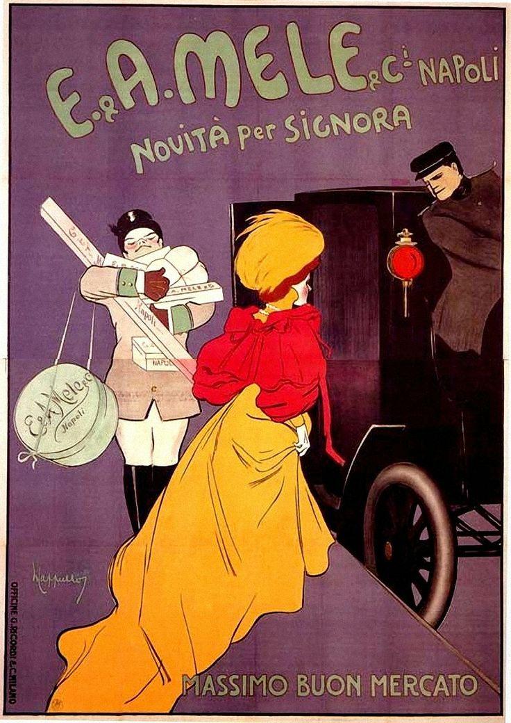 Vintage Italian Posters ~ #illustrator  #Italian #posters ~ Leonetto Cappiello
