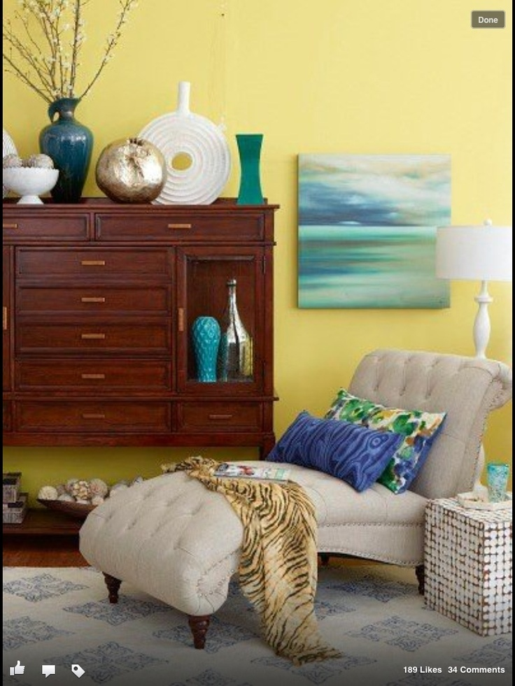 Home Goods. Love The Yellows, Blues, And Greens,.