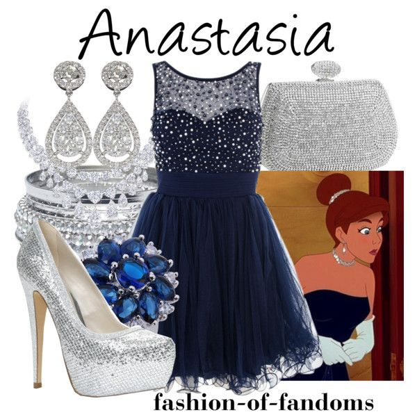 """Anastasia"" by fofandoms on Polyvore"