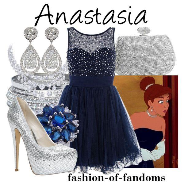 """Anastasia"" by fofandoms on Polyvore"