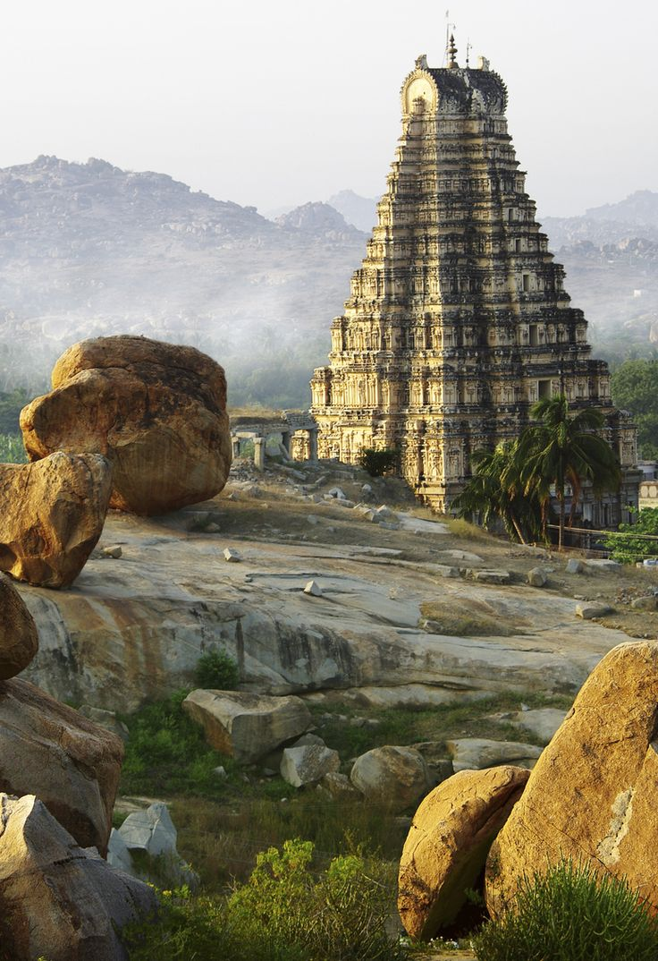 Hampi in India, one of the top ruins in Asia to experience