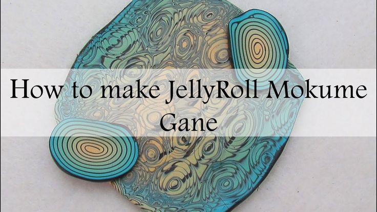 How to Make JellyRoll Mokume Gane