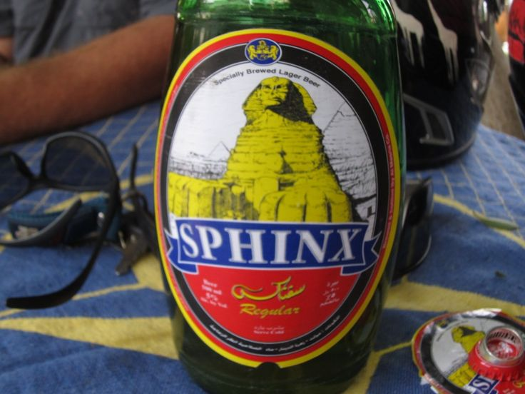 Not a bad beer SPHINX Egypt