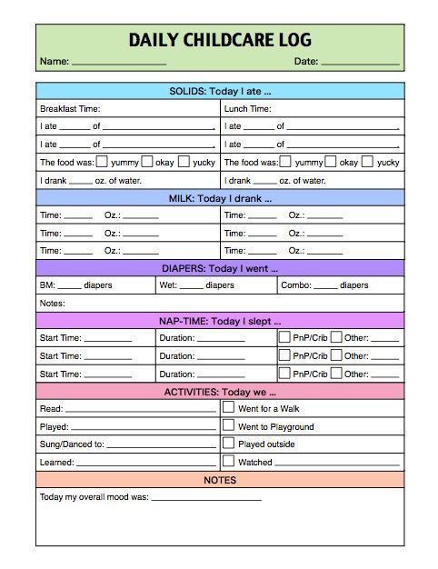 11 best images about Babysitter on Pinterest Day care, Template - Employee Record Form