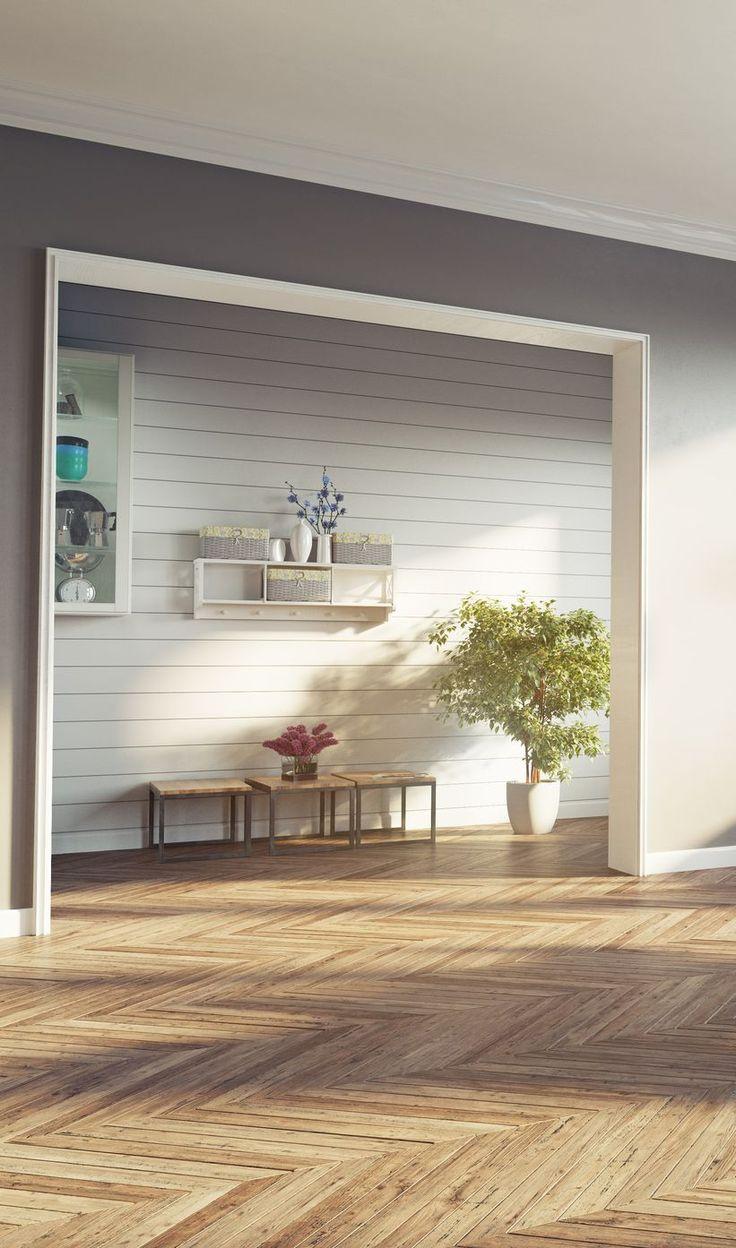 Mit einer Trockenbau-Wand lassen sich Räume funktional und schick trennen. Ganz einfach selbst machen. #wohnen #wohnzimmer #wohnung #haus #bauen #renovieren #grundriss