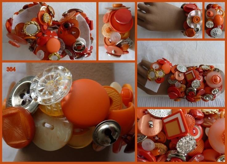 speciaal voor Koninginnedag 2013 heb ik een viertal oranje armbanden gemaakt. Natuurlijk zijn ze ook bij andere oranje evenementen te dragen.Of g...