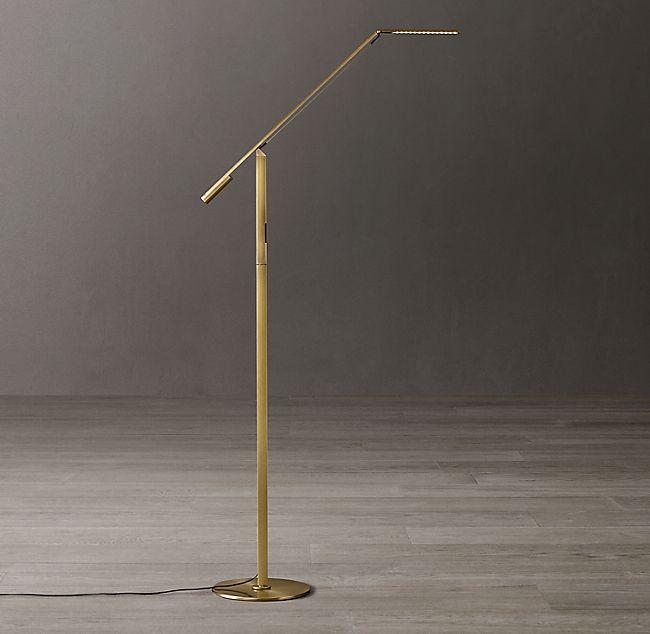 Equo Led Task Floor Lamp In 2020 Task Floor Lamp Lamp Lighting Ceiling Fans