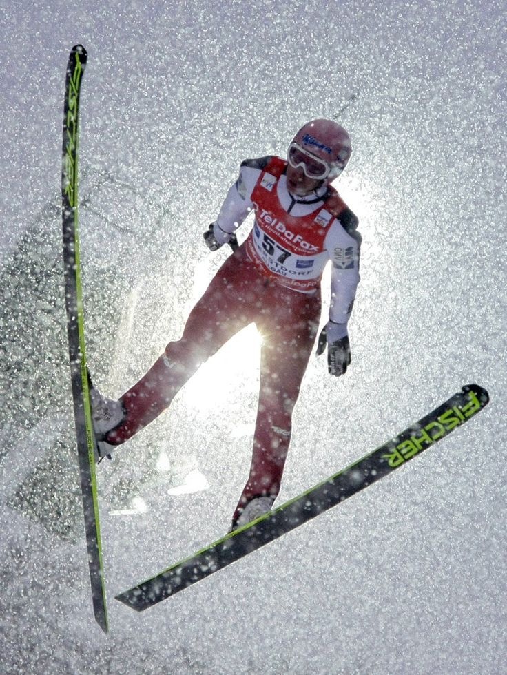 Ski jumping...if I could do it