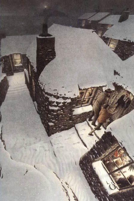 "Roberto Innocenti «Christmas Carol» | ""Картинки и разговоры"":"