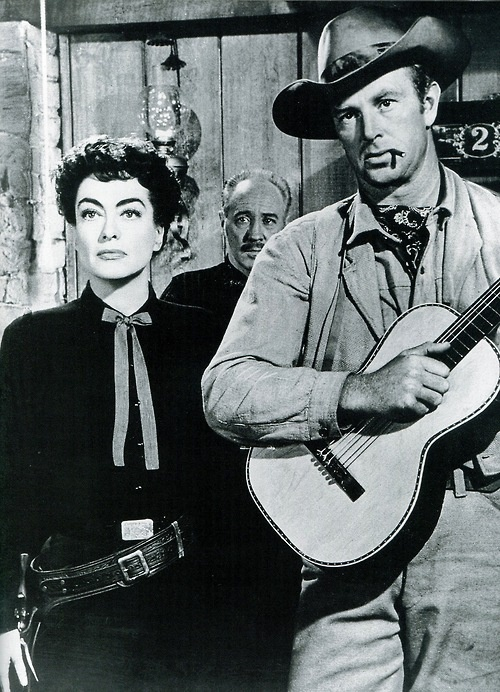 JOHNNY GUITAR (1954) - Joan Crawford and Sterling Hayden