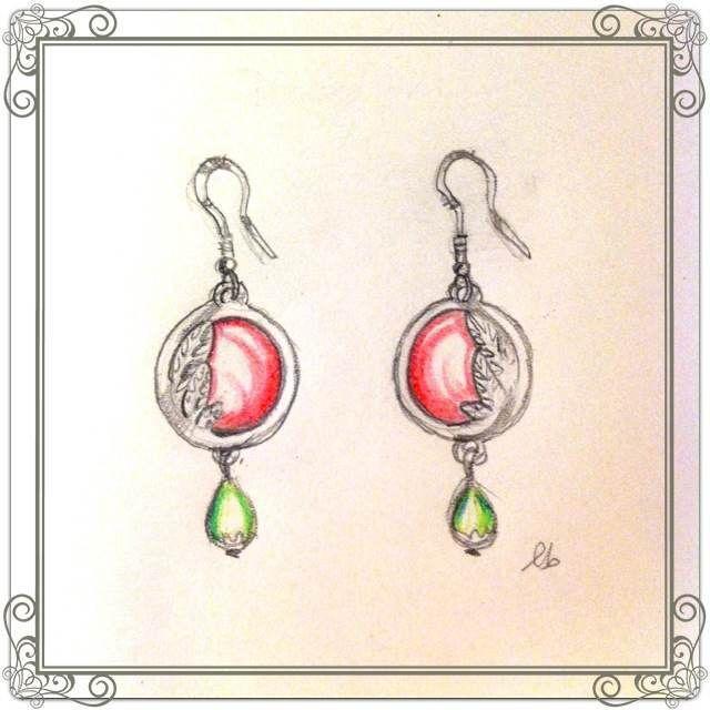 Orecchini,earrings,Pendientes,Boucles d'oreilles,イヤリング Come gli anelli le collane e i bracciali anche l'orecchino risale all'età del bronzo. In Egitto l'orecchino è principalmente un orna…