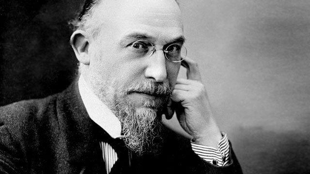 French Romantic composer Eric Satie