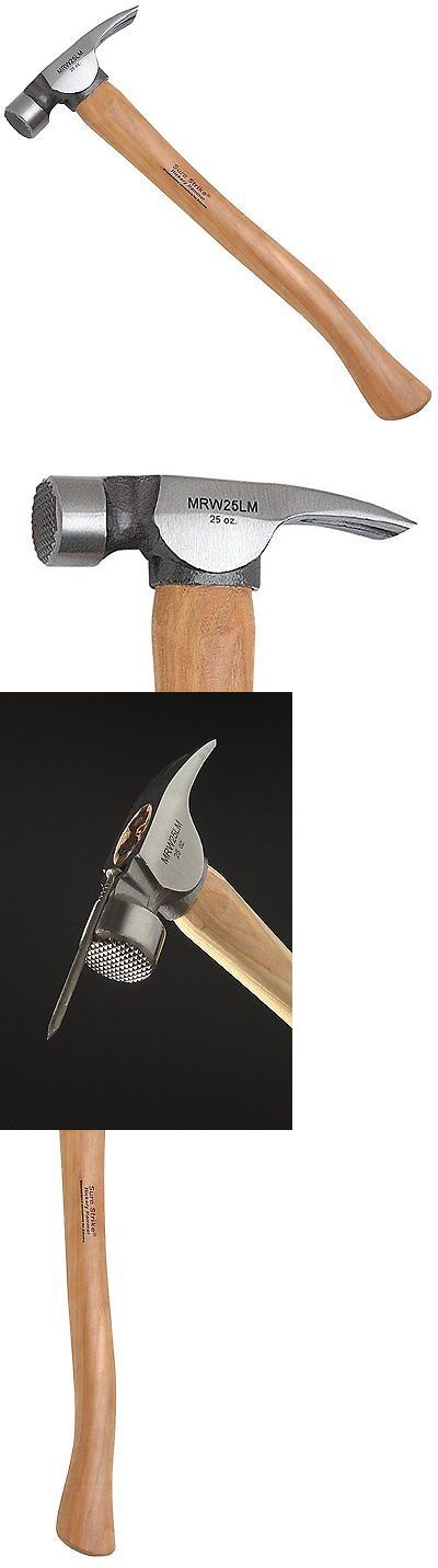 Hammers and Mallets 20763: Estwing California Framing Hammer Rip Claw Head Nail Puller Tool Steel Wood New -> BUY IT NOW ONLY: $30.94 on eBay!