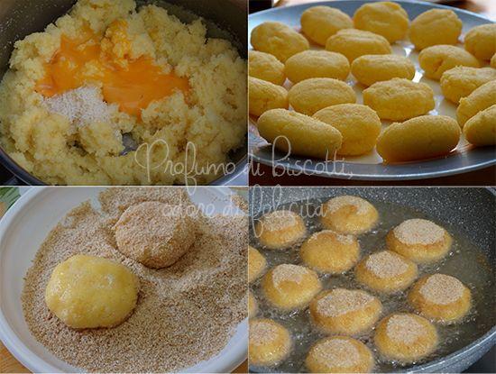 Ricetta polpette di polenta, soffici e gustose