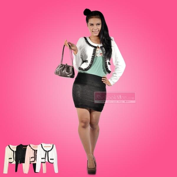 Blazer Black Lace Rp 109.000  Hub : TokoKawan.com / 0898 237 56 19