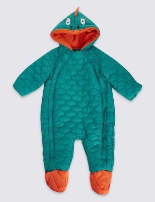 Dinosaur Snowsuit with Stormwear™ | M&S