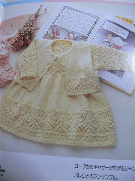 Kız Bebeklere Örgü Elbise Modelleri 116 - Mimuu.com