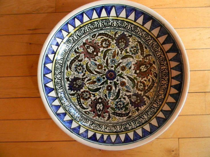 Serving Bowl / Platter Talavera ? Large Made in Mexico picclick.com