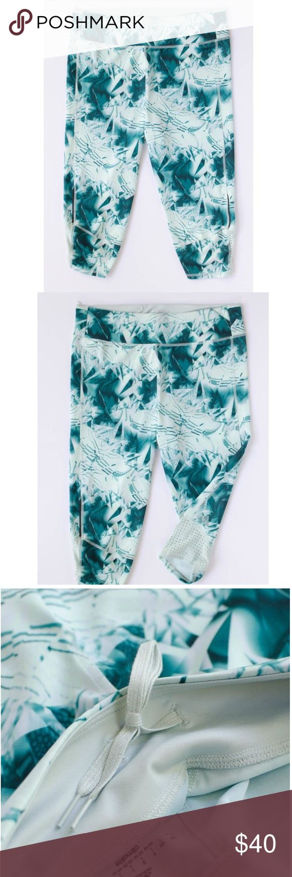 Adidas Supernova three quarters tights NWT! This fabric is very lightweight, breathable, and made with their climalite fabric so it wicks away sweat. The lower back of the pant has a mesh detail for extra breathability, too. Adidas Pants Ankle & Cropped