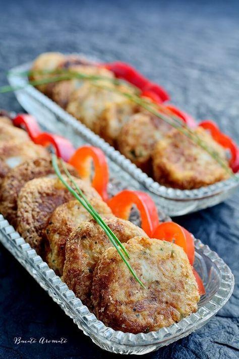 Chifteluţe din cartofi cu ton şi usturoi
