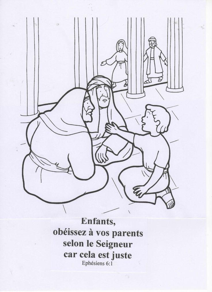 """TITRE : JESUS OBEIT A SON PERE THEME : LA VIE DE JESUS REFERENCE BIBLIQUE : Luc 2:41-52 VERSET A APPRENDRE : """"Enfants, obéissez à vos parents, car cela est juste."""" Ephésiens 6:1 CONCEPT CLE Jésus m'enseigne à obéir. OBJECTIF EDUCATIF A la fin de la classe,..."""