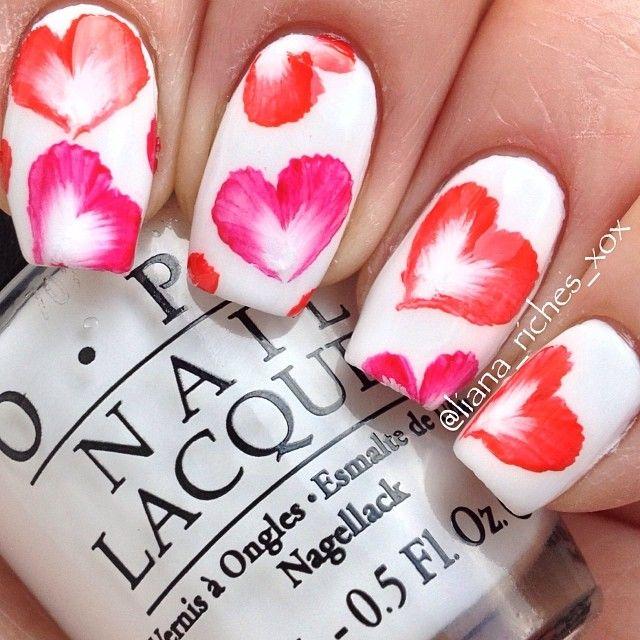 Best 25 valentine nails ideas on pinterest valentine nail valentine by lianariches nail nails nailart prinsesfo Gallery