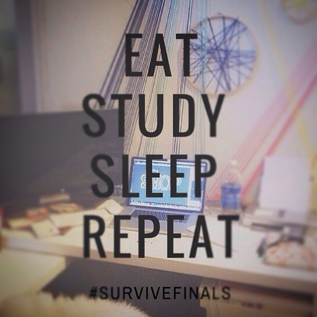 Eat sleep study repeat // follow us @motivation2study for daily inspiration