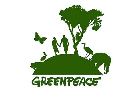 Environmental Warriors like Greenpeace, standing up for our future. @Halfmoon Yoga