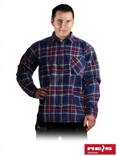 Koszula robocza w kratkę KF-MC - INTERNETOWY SKLEP BHP - artykuły i sprzęt bhp, odzież robocza, środki ochrony indywidualnej