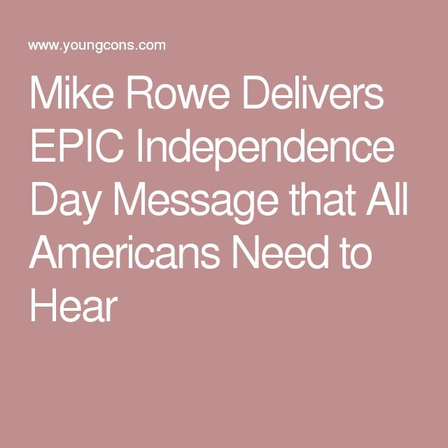 independence day message america