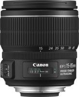 CANON EF-S 15-85 F3.5-5.6 IS USM LENS - Camera Lenses