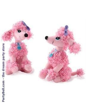 Pink Poodle Mini Plush